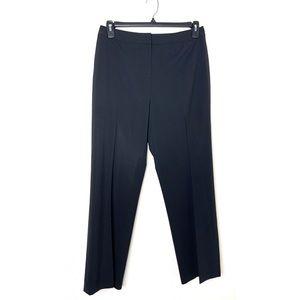 Lafayette 148 Black Size 10 Menswear Dress Pants